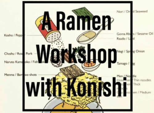 Ramen Work Shop【Okaeri Cafe Arkiv/Archives 2018-2020】