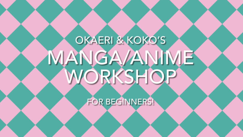 Pre Interview – Manga/Anime Workshop for Beginners with Koko-Sensei